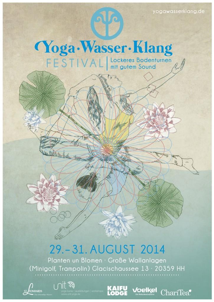 Yoga Wasser Klang Festival 2014